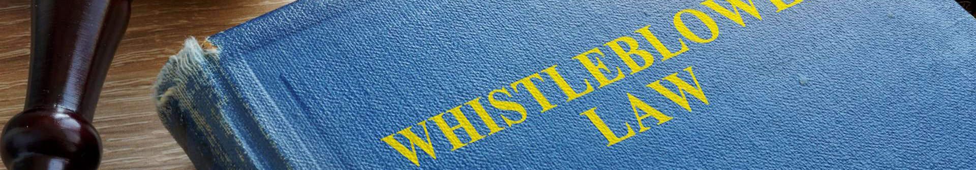 a book titled Whistleblower Law.